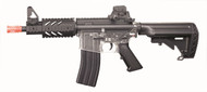 Blackviper B4811 M4 CQB Full Auto BB Gun With Navy Stock In Clear