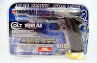 Colt M1911 A1 Spring Pistol In clear