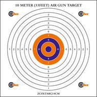 SMK BB Gun Card Target - 10m (33ft) 100pc