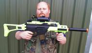 Double Eagle M85 G36 Replica In Radioactive Green