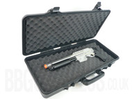 Airsoft Gun Carry Case In Tough Plastic Mid Size
