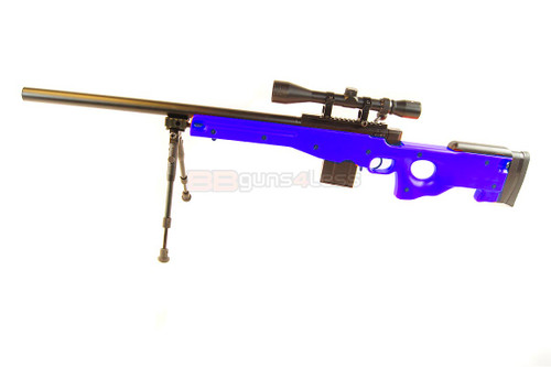 Well MB4401 L96 Replica Sniper Rifle in Blue