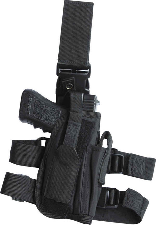 Kombat US Assault Tactical Leg Holster in Black