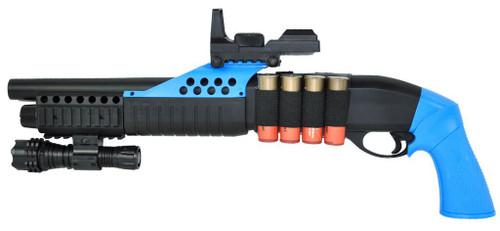AGM M180-B2 Pump Action Shot Gun in Blue