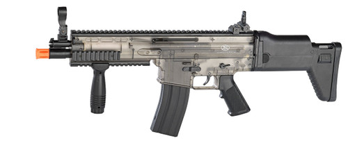 FN Scar Spring Powered Rifle in Smokey Clear Finish