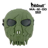 Wo Sport Desert Army Group Mask V1 (Round Mesh) OD
