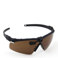 BV Tactical 2.0 FRAMEWORK ANSI Z80.3 GLASSES (BLACK FRAME BROWN LENS)