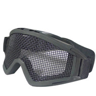 BV Tactical Desert Locust Mesh Goggles (Steel Mesh) Black