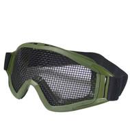 BV Tactical Desert Locust Mesh Goggles (Steel Mesh) OD