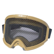 BV Tactical Gear Mesh Goggle Tan
