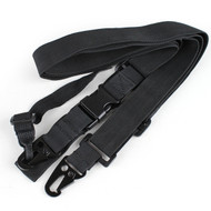 Three Points Sling Black