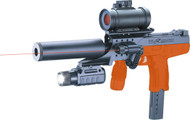 Double Eagle M30p Spring Gun with Scope in Orange