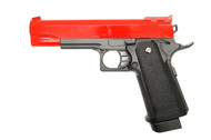 Galaxy G6 M1911 Full Metal Pistol BB Gun in Red