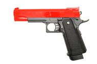 Galaxy G6 M1911 Full Metal Pistol BB Gun in Red