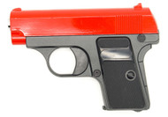 Galaxy G1 Metal Spring Pistol BB Gun in Red