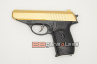 Galaxy G3 PPK Replica Full Metal Pistol BB Gun in Gold