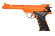 Double Eagle M28 spring pistol in orange