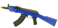 Double Eagle M901A Metal AK47 Krinkov Full stock in Blue