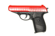 Galaxy G3 PPK Replica Full Metal Pistol in red
