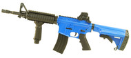 Blackviper D4817 M4 fully auto rifle in Blue