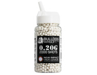 Bulldog Impact BB Pellets 2000 x 0.20g Speed Loader in White