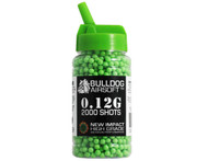Bulldog Impact BB Pellets 2000 x 0.12g Speed Loader in Green