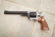 Blackviper 942 Spring Revolver with Long Barrel brown grip
