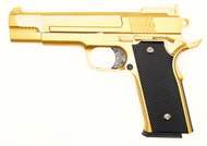 Galaxy G20 Full Scale M945 Pistol Full Metal in Gold