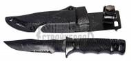 T&D M37 Plastic Training Knife in Black