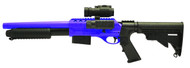 Double Eagle M47D UTG Tactical pump action in blue