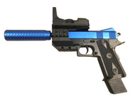 Vigor 2112-B4 M1911 bb gun Spring Pistol in Blue