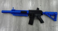 Golden Hawk M4 Spring Rifle with bipod in blue (2212)