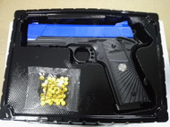 Golden Hawk M1911 Custom Spring Pistol in blue (2030)