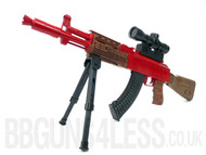 Replica AK47 M887-3 sniper with bi pod