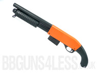 Bison C501C  BB gun pump action Shotgun in black