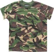 Kids T shirt British dpm camo