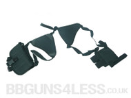 Low cost Shoulder Holster in Black