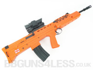 HFC L85 SA 80 replica Rifle in orange