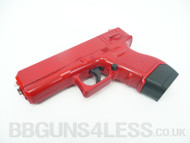 Galaxy G16 Full Metal Pistol in Red