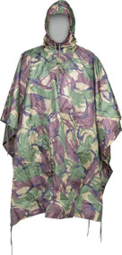 US Style Poncho in DPM Camouflage