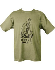 D-Day Doll T Shirt