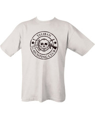 Taliban Hunting Club T-shirt - white