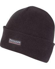 Thinsulate Bob Hat Black