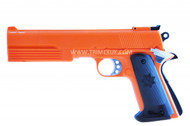 HFC HG 125 Gas powered Pistol with Extended Barrel in orange