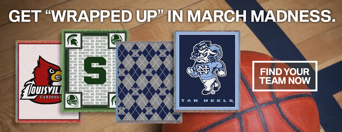 Shop For College Blankets Now