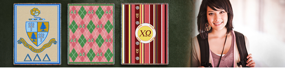 Pure Country has lots of sorority throw blankets