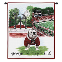 University of Georgia Wall Tapestry Wall Tapestry