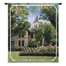 University Of Wisconsin OshKosh Campus Wall Tapestry Wall Tapestry