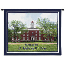 Alleghany College Bentley Hall Wall Tapestry Wall Tapestry