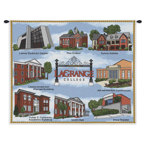 Lagrange College -Wall Tapestry Wall Tapestry